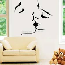 New Wall Design by Aliexpress Com Buy Best Selling Kiss Wall Stickers Home Decor
