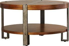 loon peak gallatin round coffee table u0026 reviews wayfair