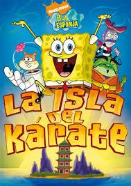 ver bob esponja: la isla del karate