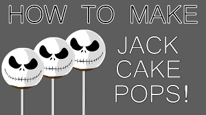 how to make halloween jack cake pops youtube