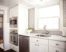 Tin Backsplash Houzz - White tin backsplash