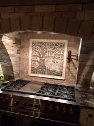 Kitchen Backsplash Mural Stone by Impressive Kitchen Backsplash Mural Metal That Using Tree Of Life