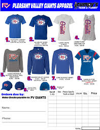 spirit wear archives nsyfl pv giants youth football and cheer
