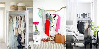 Home Decor Ideas For Small Bedroom Storage Ideas For A Bedroom Without A Closet Genius Clothing