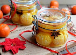 edible gifts for giving spiced brandy soused clementines
