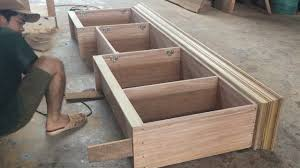 Building Kitchen Cabinet Boxes Amazing Woodworking Skill Carpenter How To Build Kitchen