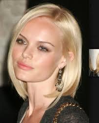 medium length hairstyles for round faces 2014 blunt all one length bob hairstyles pinterest bobs and