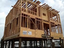 House On Pilings by David J Festa Carpentry Llc House Framing On Pilings