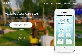 Creare un     app  i    migliori creatori di app