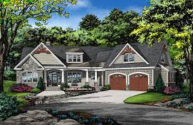 Craftsman Home Plans With Pictures 9 Narrow Lot Craftsman House Plans With Courtyard Enjoyable Design