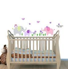 Tree Decal For Nursery Wall by Amazon Com Elephant Nursery Tree Decal Pink Wall Stickers