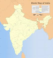 Blank Physical Map Of Russia by Blank Physical Map India Rivers