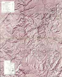 Canyonlands National Park Map Usgs Geological Survey Bulletin 1327 Contents