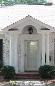 interior fantastic white front porch design ideas using glass