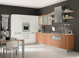 House Designs Kitchen by Modern White Wood Kitchen Cabinets Simple Design 6 On Living Room