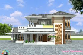 modern house 2700 sq ft kerala home design and floor plans