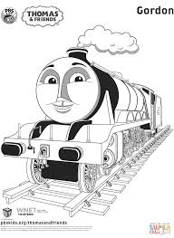 gordon from thomas u0026 friends coloring page free printable