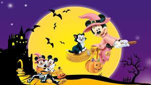 cartoon halloween wallpapers wallpaperpulse