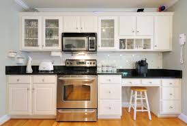 Frosted Glass Love This Kitchen The Herringbone White Backsplash - Kitchen cabinet with glass doors
