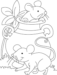 mouse coloring