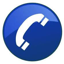 Contact us via Telephone