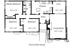 Simple House Floor Plan Design Home Design Free Houser Plans Ranch Plan Designer Appfree With