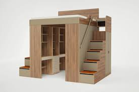 Loft Shelving by Clever Bed Designs With Integrated Storage For Max Efficiency