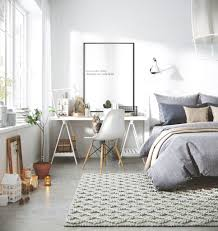 Beautiful Interior Design by Gravity Home Bedroom With Workspace In A 3d Scandinavian