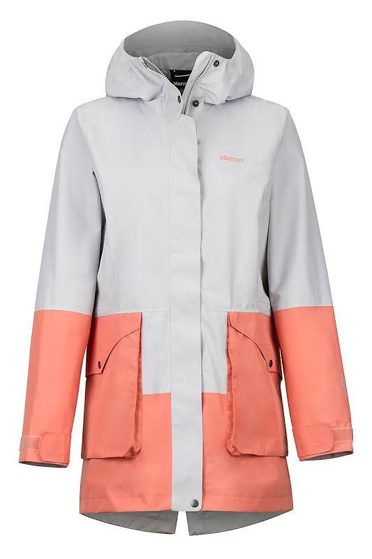 Marmot Wend Jacket Platinum/Coral Pink Medium 45430-1536-M