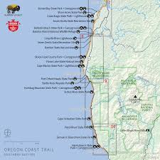 Maps Oregon by Navigating The Oregon Coast Trail Outdoor Project