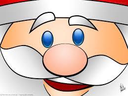 Santa Claus Cartoon Wallpaper
