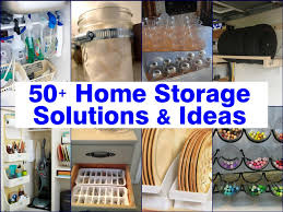kitchen storage ideas tension rods under the sink overhead storage