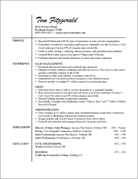 Professional Resume Examples   format of a professional resume