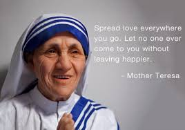 Mother Teresa Quotes On Love by Spread Love Mother Teresa Quotes Posters By Sherly David