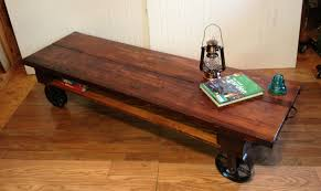 Simple Coffee Table by Wood Coffee Table With Wheels Home Decorating Interior Design
