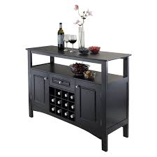 amazon com winsome wood jasper storage buffet buffets u0026 sideboards