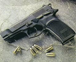 Pistola 9mm Browning Hi-Power