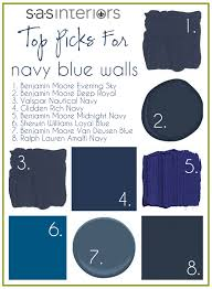 Navy Blue Wall Bedroom Midnight Blue Wall Paint The Psychology Of Color Diy Home Remodel