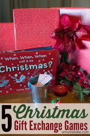 5 christmas gift exchange games a mom u0027s take