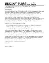 Sample Lawyer Resumes by Sample Legal Cover Letter Within Sample Attorney Cover Letter My