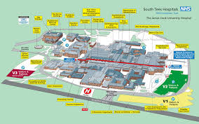 Ecu Campus Map Getting To The Hospital South Tees Hospitals Nhs Foundation