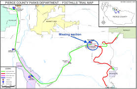 Illinois Prairie Path Map by Pierce County Will Condemn Properties Needed To Complete The