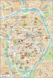 New Orleans Downtown Map by Geoatlas City Maps Brugge Map City Illustrator Fully