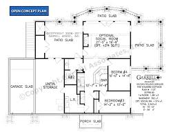 walkers cottage house plan house plans by garrell associates inc