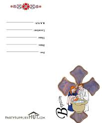 Invitation Cards Baptism Baptism Invitation Cards Free