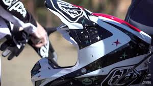 troy lee designs motocross helmet troy lee designs se4 helmet youtube