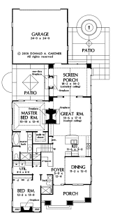 Split Level Ranch Floor Plans by Best 25 Narrow House Plans Ideas That You Will Like On Pinterest