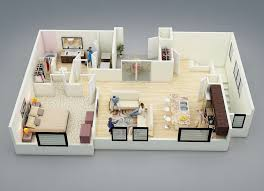 while a one bedroom space might seem dinky compared to a suburban