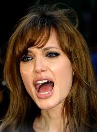 angelina jolie screaming angry