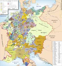 Detailed Map Of Germany by Duchies Of Medieval Germany